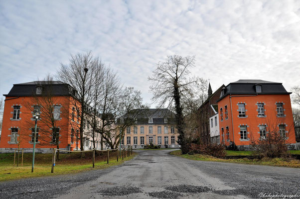 Le pensionnat des Dames de St Maur, au château de Callenelle