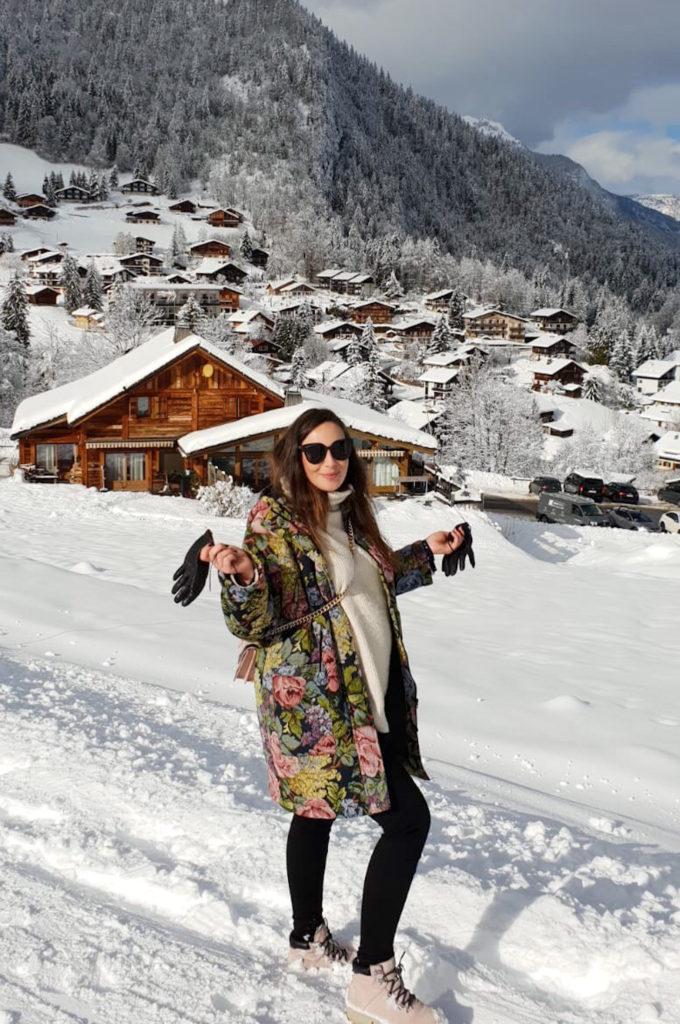 Pas de ski mais beaucoup de marche enceinte