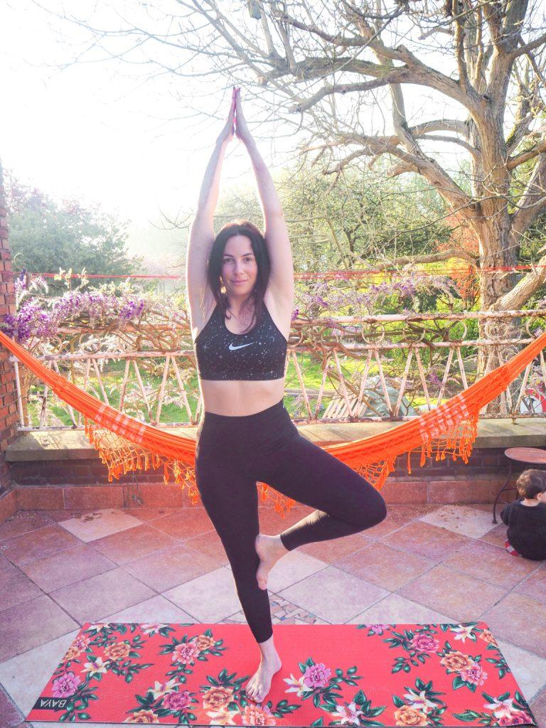 Séance de yoga matinal