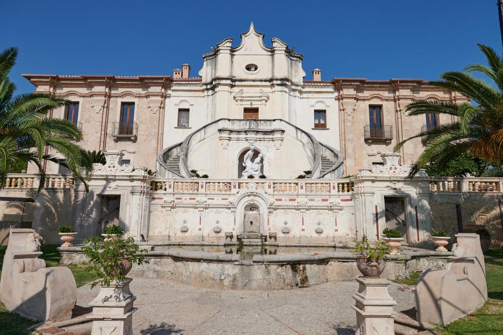 La Villa Caristo, le seul exemple de propriété privée baroque de toute la Calabre
