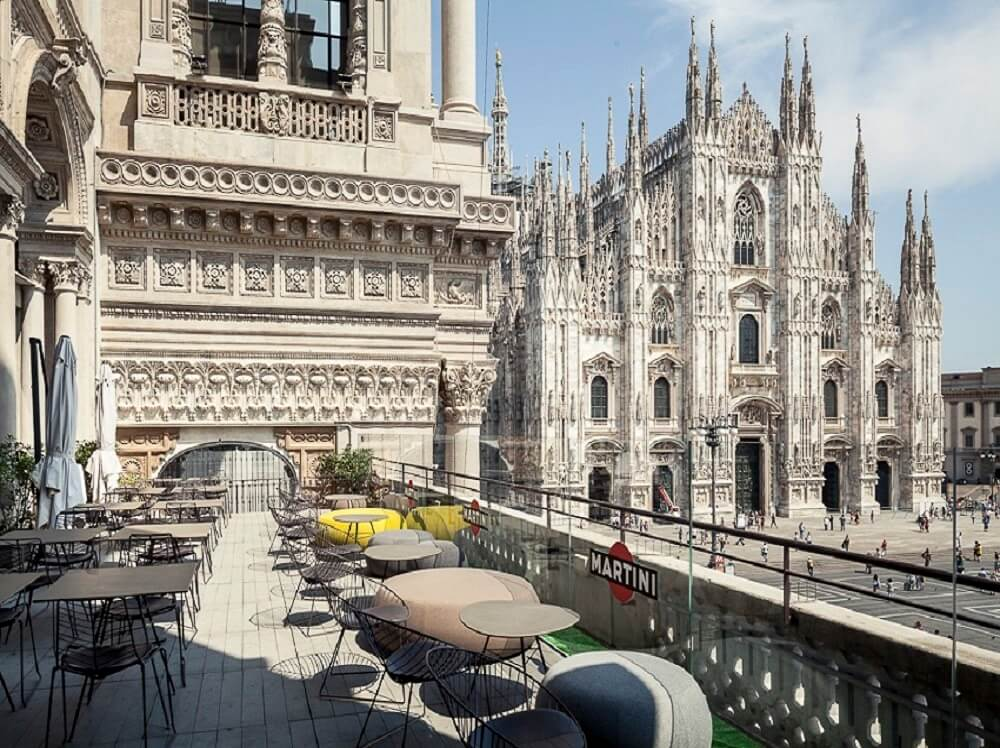 Vue sur Duomo pour un aperitivo level up
