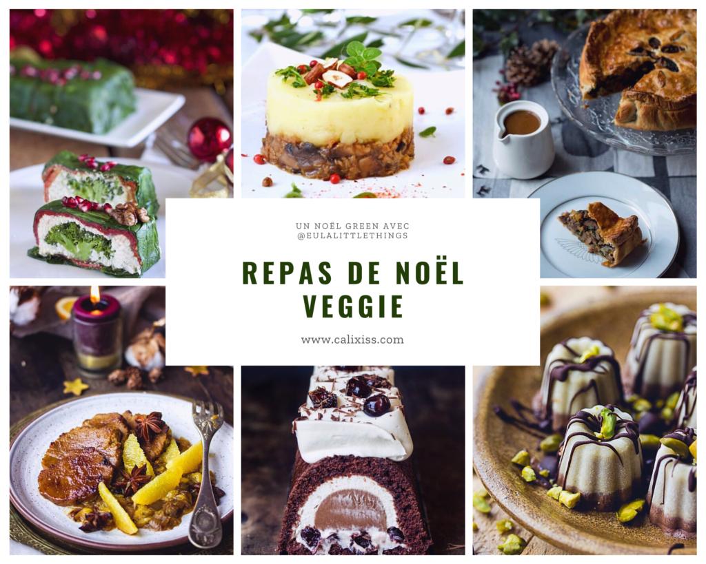 Idées de recettes pour un repas de Noël vegan et végétarien